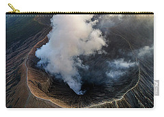 Volcanic Crater From Above Carry-all Pouch