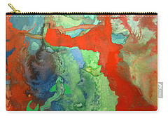 Volcanic Island Carry-all Pouch by Mary Ellen Frazee