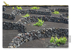 Volcanic Vineyards Carry-all Pouch by Delphimages Photo Creations