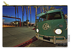 Volkswagen Bus At The Imperial Beach Pier Carry-all Pouch