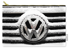 Volkswagen Symbol Under The Snow Carry-all Pouch