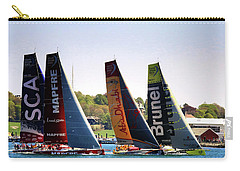 Volvo Ocean Race Newport Ri Carry-all Pouch by Tom Prendergast
