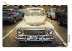 Carry-all Pouch featuring the photograph Volvo, The California Girlfriend by Craig J Satterlee