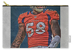 Von Miller Denver Broncos Art 1 Carry-all Pouch