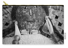 Carry-all Pouch featuring the photograph Voodoo Girl by Lynn Sprowl