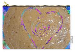 Vortex Heart Cashew Butter Carry-all Pouch