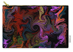 Carry-all Pouch featuring the digital art Vortex One by Iowan Stone-Flowers