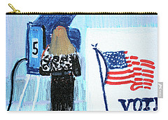 Voting Booth 2008 Carry-all Pouch by Candace Lovely
