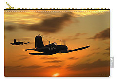 Vought Corsairs At Sunset Carry-all Pouch