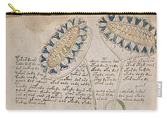 Voynich Flora 04 Carry-all Pouch