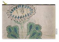 Voynich Flora 11 Carry-all Pouch