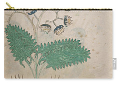 Voynich Flora 14 Carry-all Pouch