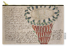 Voynich Flora 15 Carry-all Pouch
