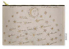 Voynich Manuscript Astro Sun And Moon 1 Carry-all Pouch