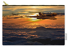 Vulcan Bomber Sunset 2 Carry-all Pouch