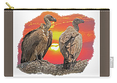 Vultures At Sunset Carry-all Pouch