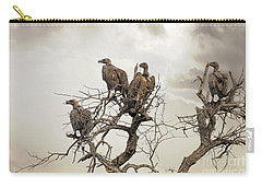 Vultures In A Dead Tree.  Carry-all Pouch