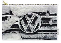 Vw Snow Day Carry-all Pouch