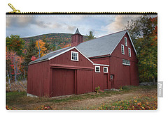 Carry-all Pouch featuring the photograph Wachusett Barn by Robin-lee Vieira