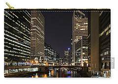 Carry-all Pouch featuring the photograph Wacker Avenue by Andrea Silies