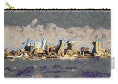 Wacky Philly Skyline Carry-all Pouch by Trish Tritz