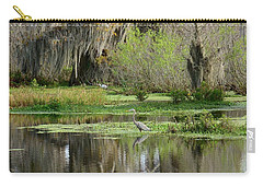 Wading Bird Way Carry-all Pouch by Carol Bradley