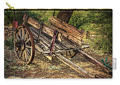 Wagon At Tanque Verde Ranch Carry-all Pouch