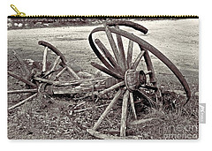 Wagon Wheels Monotone Carry-all Pouch