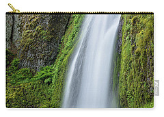 Carry-all Pouch featuring the photograph Wahkeena Falls by Greg Nyquist