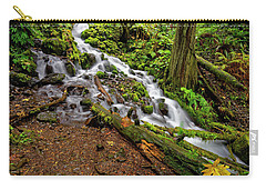 Wahkeena Falls Carry-all Pouch by Jonathan Davison