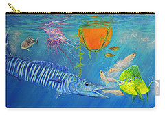 Wahoo Dolphin Painting Carry-all Pouch