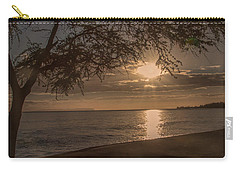 Waimea Bay Sunset 4 Carry-all Pouch
