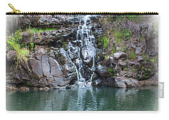 Waimea Waterfall Vignette Carry-all Pouch