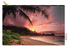 Wainiha Kauai Hawaii Bali Hai Sunset Carry-all Pouch