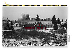 Carry-all Pouch featuring the photograph Heritage Park by Stuart Turnbull