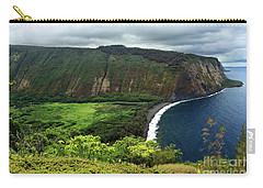 Waipio Valley Carry-all Pouch by James Eddy