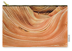 Carry-all Pouch featuring the photograph Waiting At The Wave by Gaelyn Olmsted