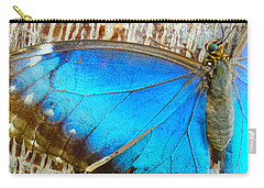 Waiting Blue Carry-all Pouch
