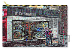 Carry-all Pouch featuring the photograph Waiting By O' Callaghans by Dave Luebbert