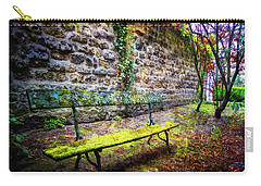 Carry-all Pouch featuring the photograph Waiting by Debra and Dave Vanderlaan