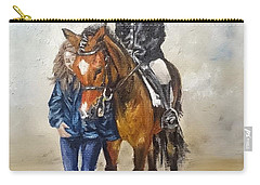 Waiting For Dressage Carry-all Pouch