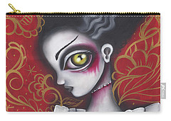 Waiting For  Frankenstein  Carry-all Pouch by Abril Andrade Griffith