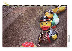Waiting For Rain  Carry-all Pouch by Carol Japp