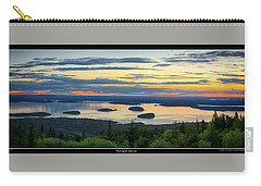 Waiting For Sunrise, Acadia National Park Carry-all Pouch