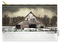 Waiting For The Storm To Pass Carry-all Pouch by Julie Hamilton