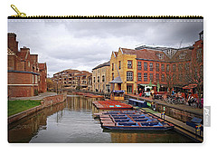 Carry-all Pouch featuring the photograph Waiting For The Tourists Cambridge by Gill Billington