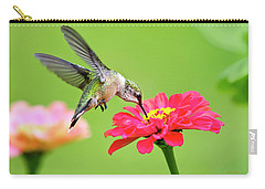 Carry-all Pouch featuring the photograph Waiting In The Wings by Christina Rollo