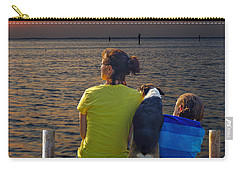 Waiting.......... Carry-all Pouch by Judy Johnson