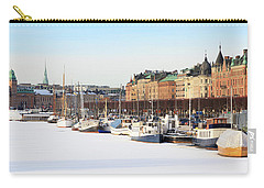 Carry-all Pouch featuring the photograph Waiting Out Winter by David Chandler