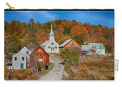 Waits River Church In Autumn Carry-all Pouch